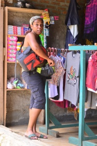 There are shops along the way - good for souvenirs, water, or a Bob Marley t-shirt